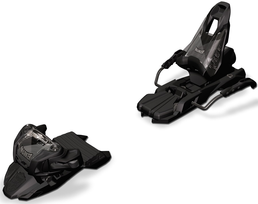 marker free ten ski bindings 85mm black