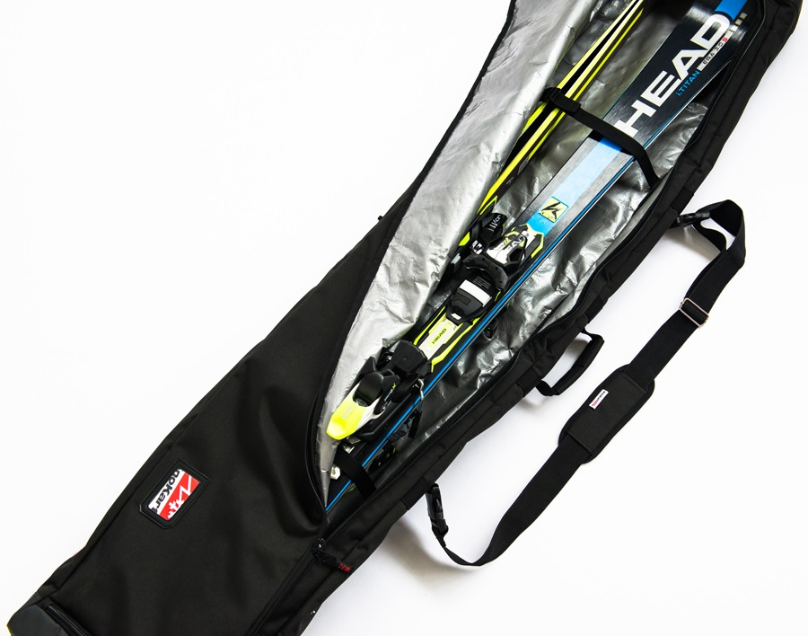 SnoKart The Kart 6 Multi-Use Ski Snowboard Bag 180cm Black ebae8f7bd7052