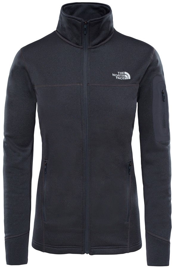 The North Face Kyoshi Full Zip Women's Jacket, S TNF Dark Grey