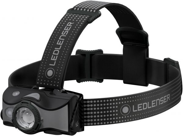 Led Lenser MH7 Headlamp Rechargeable Led Head Torch, Black/Grey