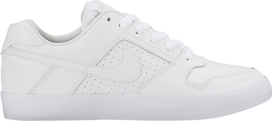 9f6d389011523 Nike SB Zoom Delta Force Vulc Skate Shoes, UK 10 White