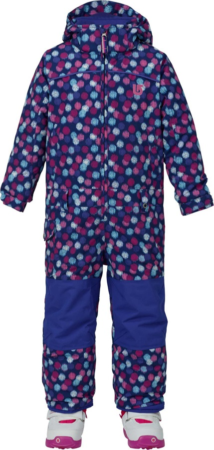 Burton Minishred Illusion Girls One Piece Snow Suit, 3T Ikat Dot