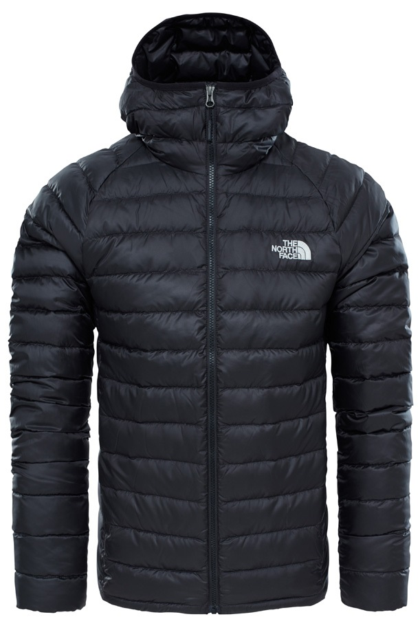 The North Face Trevail Hoodie Insulated Hooded Jacket S Black