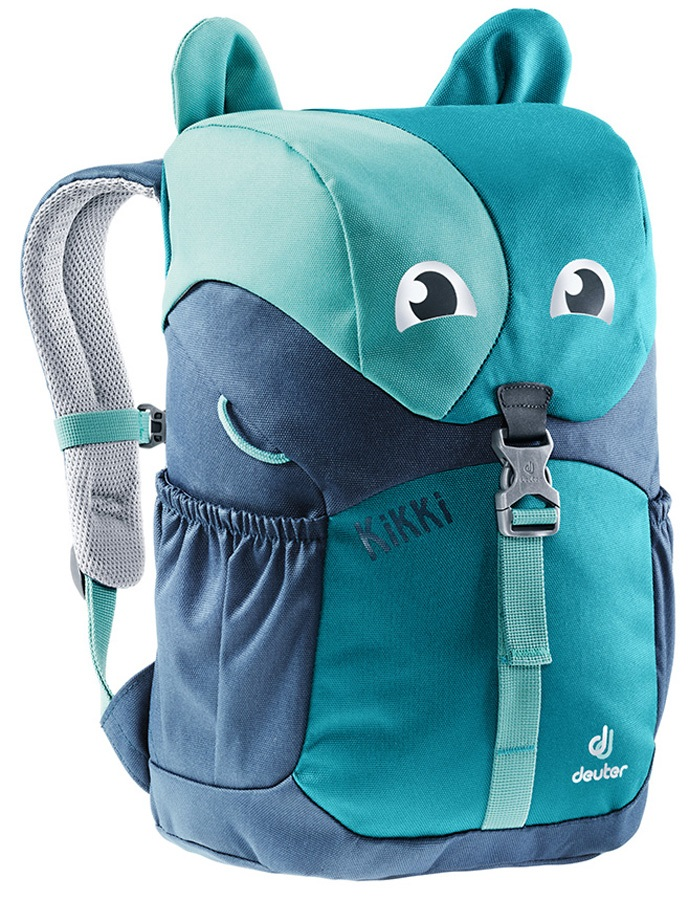 Deuter Child Unisex Kikki Children's Backpack, 6L Petrol-Midnight