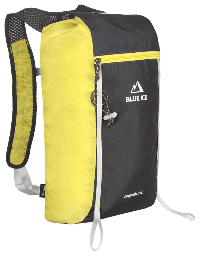 Blue Ice Dragonfly Alpine Climbing Backpack, 18L Yellow/Black