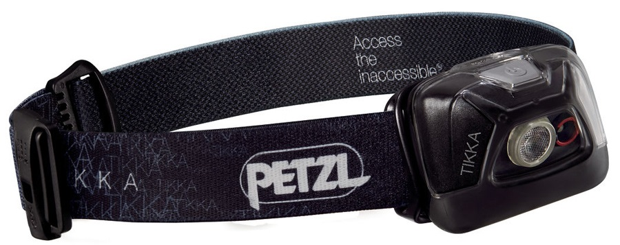 Petzl Tikka Headtorch, 200 Lumens Black