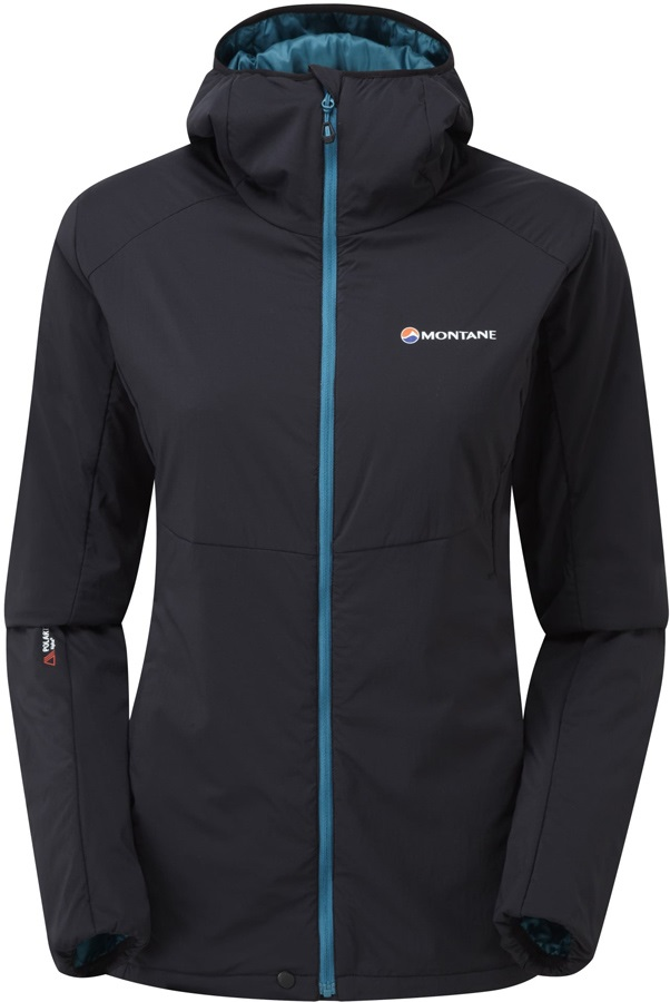 Montane Womens Halogen Alpha Women's Insulated Jacket, UK 8 Black