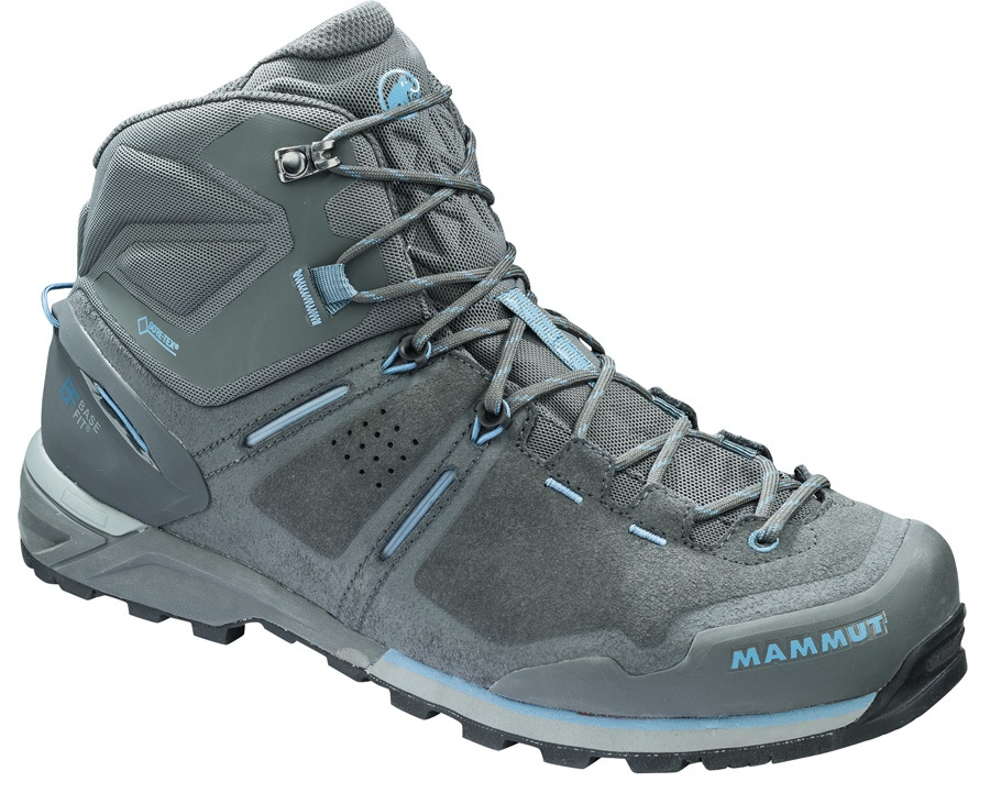 Mammut Alnasca Pro Mid GTX® Men's Hiking Boots, UK 12 Graphite-cloud