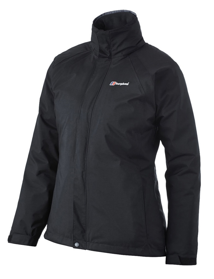 Berghaus Calisto Delta Shell Women's Waterproof Jacket UK 10 Black