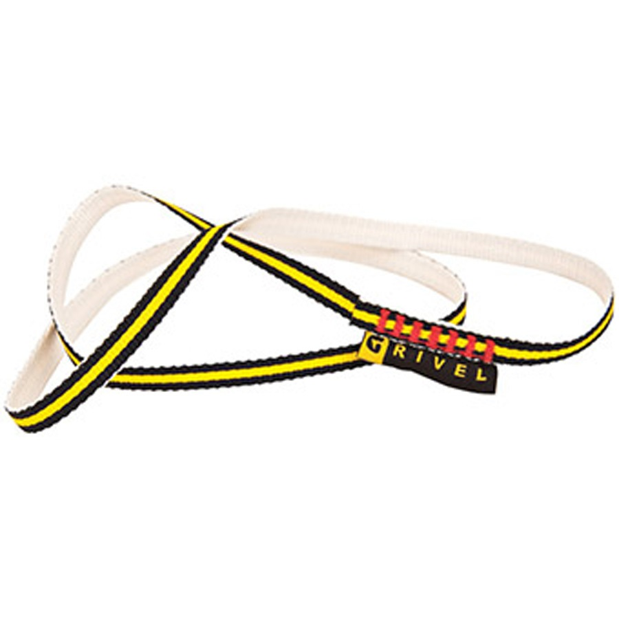Grivel Grivel Ring Sling Dyneema Sling, 60cm X 10mm, Yellow
