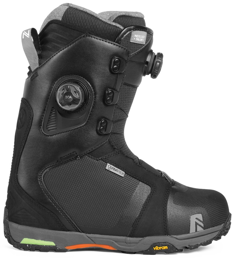 Nidecker Talon Focus Snowboard Boots, UK 7 Black 2019