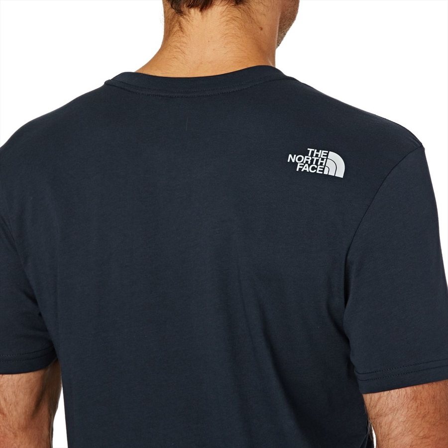 a1122c628 The North Face Short Sleeve Easy Tee Men's T-shirt L Navy/TNF White