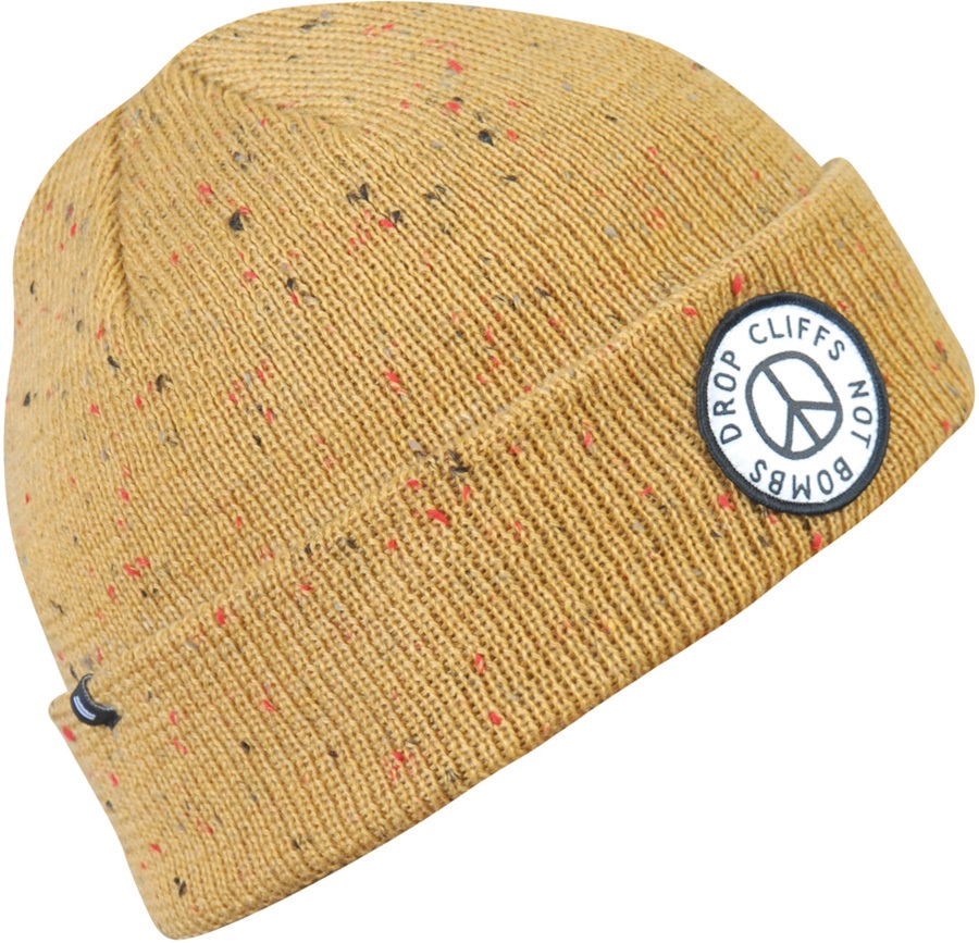 uk availability 2ff5b b35be Planks Peace Beanie, One Size Mustard