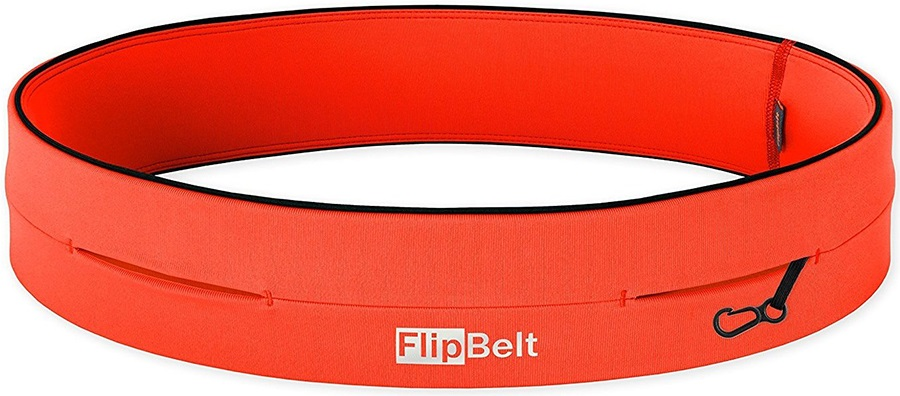 FlipBelt Classic Running Belt, XL Neon Punch