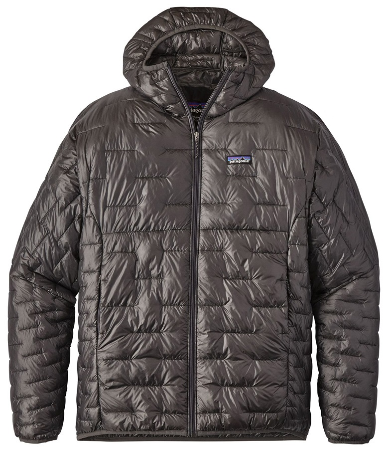 Patagonia Micro Puff Hoody Insulated Jacket, XL Forge-Grey