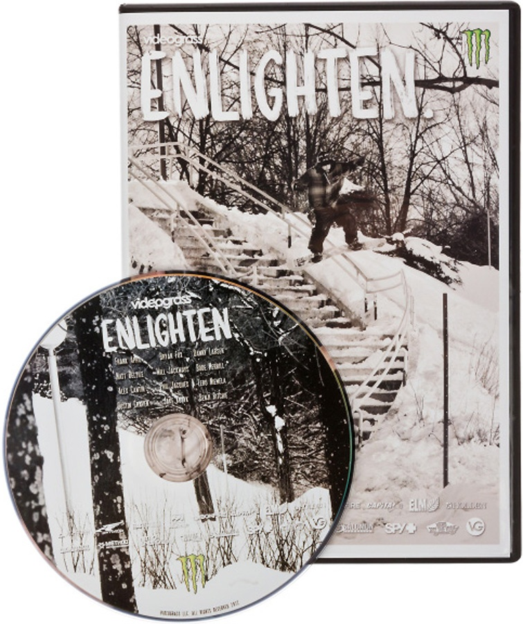 Videograss Enlighten. Snowboard DVD