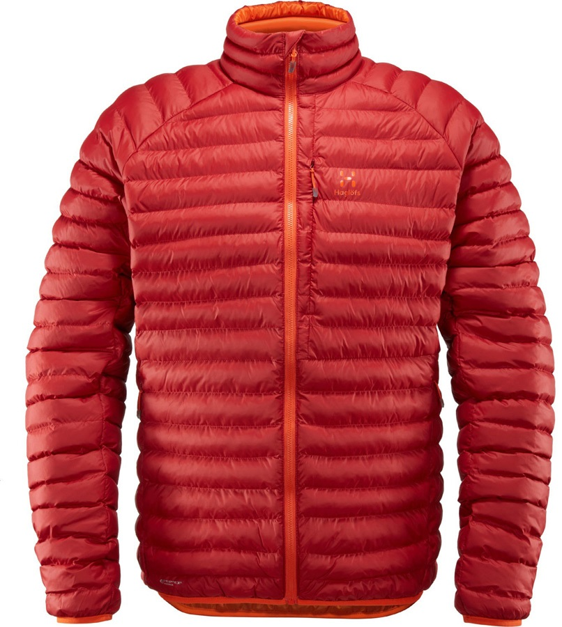Haglofs Essens Mimic Jacket Insulated Jacket, S Rubin/Cayenne