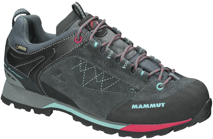 Mammut Ridge Low GTX Women's Walking Shoes UK 5 Graphite/Fiji