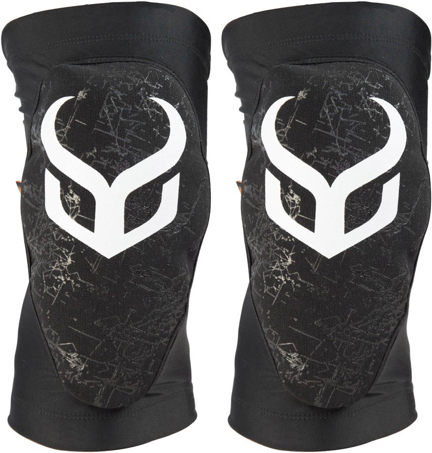 Demon Soft Cap X D3O Snowboard/Ski Knee Pads XL Black/White