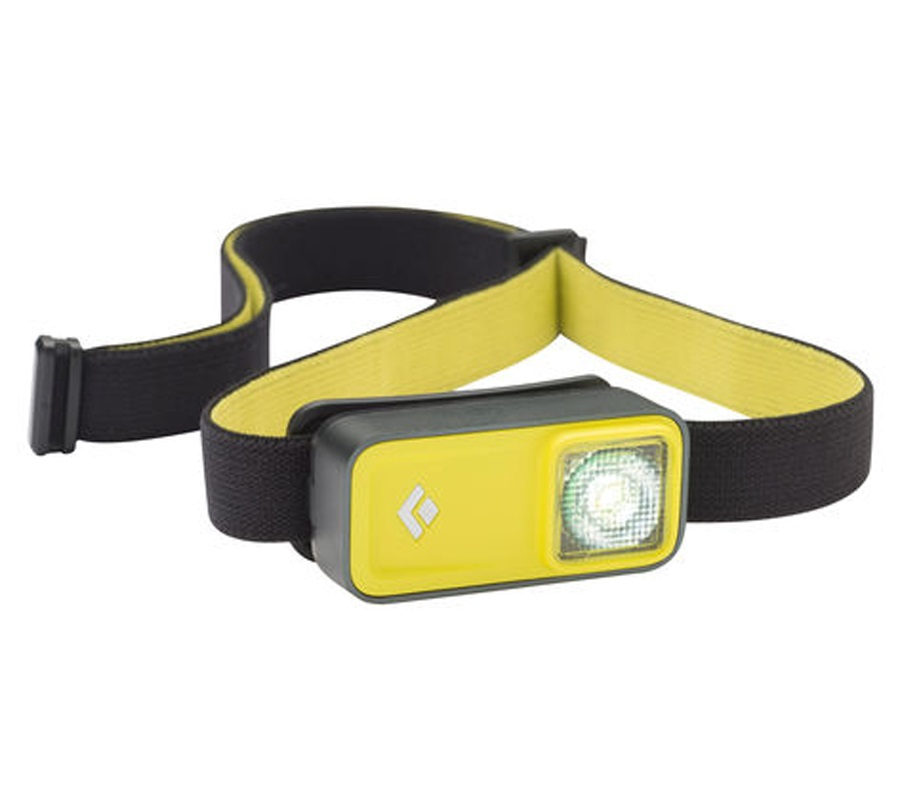 Black Diamond Ion LED Touch Sensitive Headlamp, Adjustable, Yellow