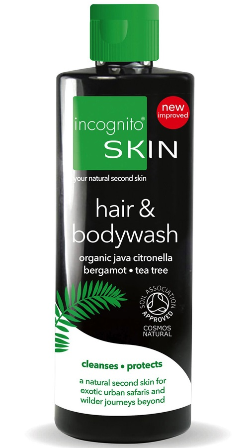 Incognito Hair & Bodywash Travel Shampoo & Shower Gel, 200ml