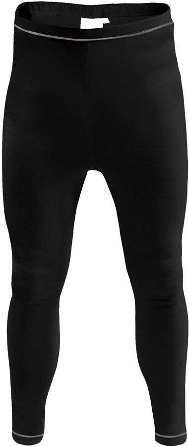 Manbi Adult Supatherm Thermal Long Johns, XS, Black