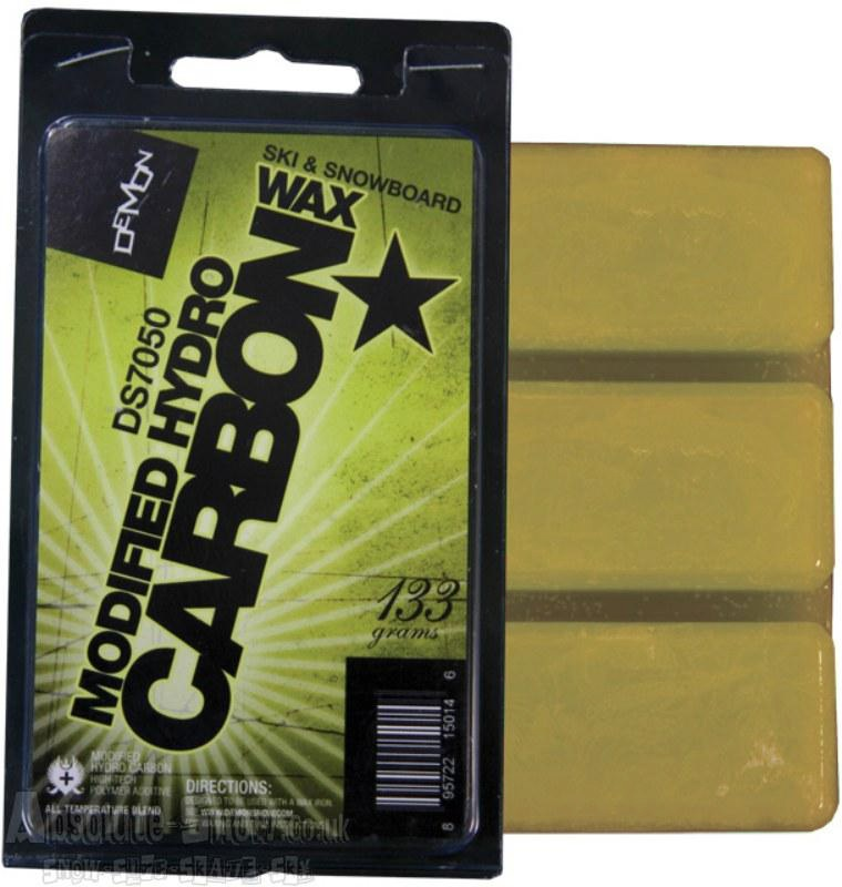 Demon Modified Hydrocarbon Snowboard Base Wax 133g Yellow