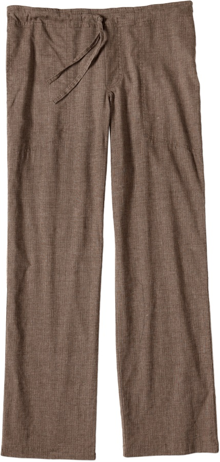 Prana Sutra Men's Climbing/Yoga Pants XL Brown Herringbone Regular