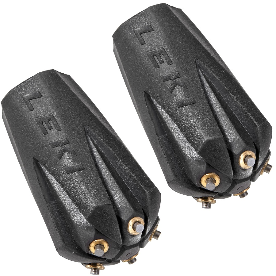 Leki Trekking Silent Spike Replacement Trekking Pads Pair Black