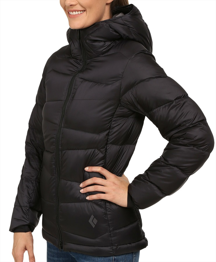 Black Diamond Cold Forge Parka Women's Insulated Jacket UK 16 Black