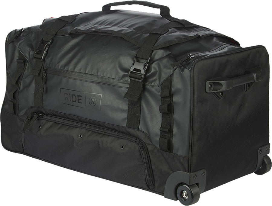 Ride Duffle Roller Wheelie Bag, Black