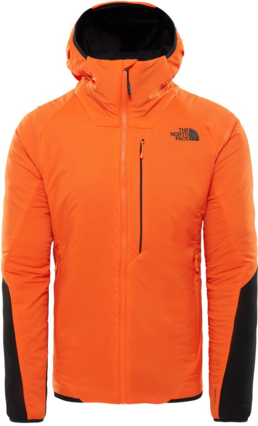 The North Face Ventrix Hoodie Insulated Hooded Jacket L Persian Orange