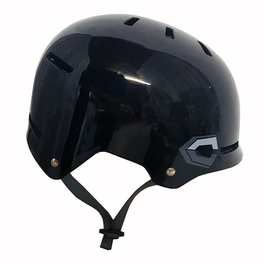 Capix Closer Skate/BMX Helmet, L/XL, Black