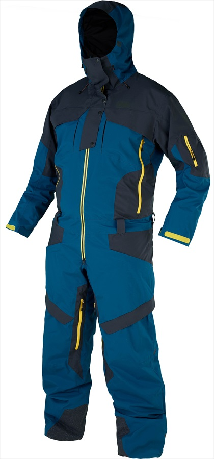 Picture Explore Ski/Snowboard One Piece Suit, XL Petrol Blue
