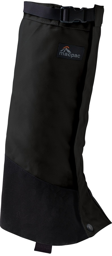 Macpac Cascade Gaiter Hiking Boot Gaiters, S Black