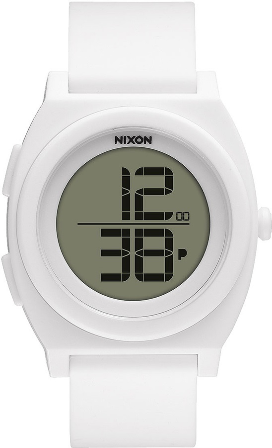 Nixon Time Teller Digi Men's or Womens Wrist Watch, White