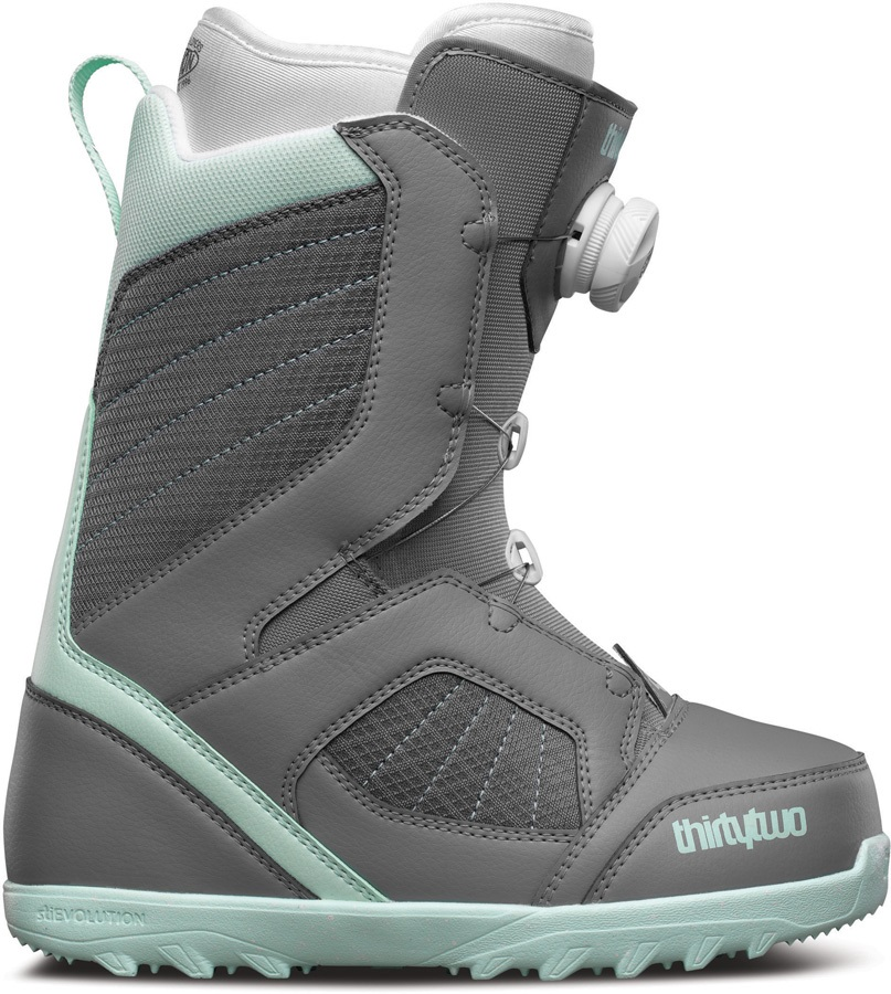 thirtytwo STW Boa Women's Snowboard Boots, UK 4.5, Grey, 2017