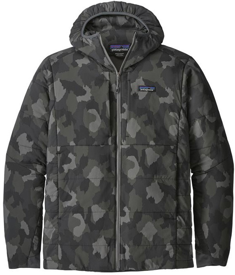 Patagonia Nano Air Hoody Stretch Insulated Jacket, S Bunker Camo