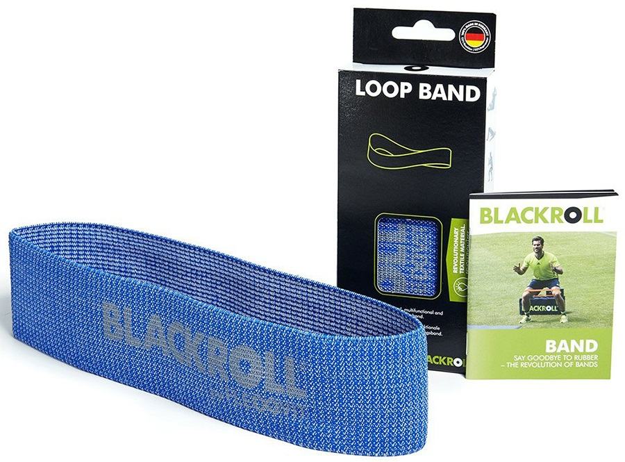Blackroll Strong Resistance Loop Band, Blue