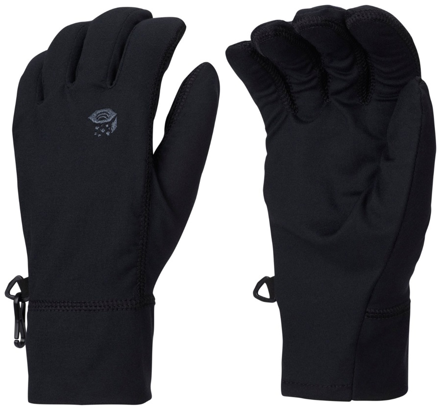 Mountain Hardwear Butter Men's Liner Glove, XS Black