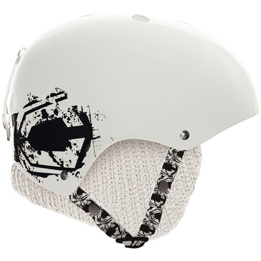 Capix Team Skate/Bike Helmet, L/XL, White