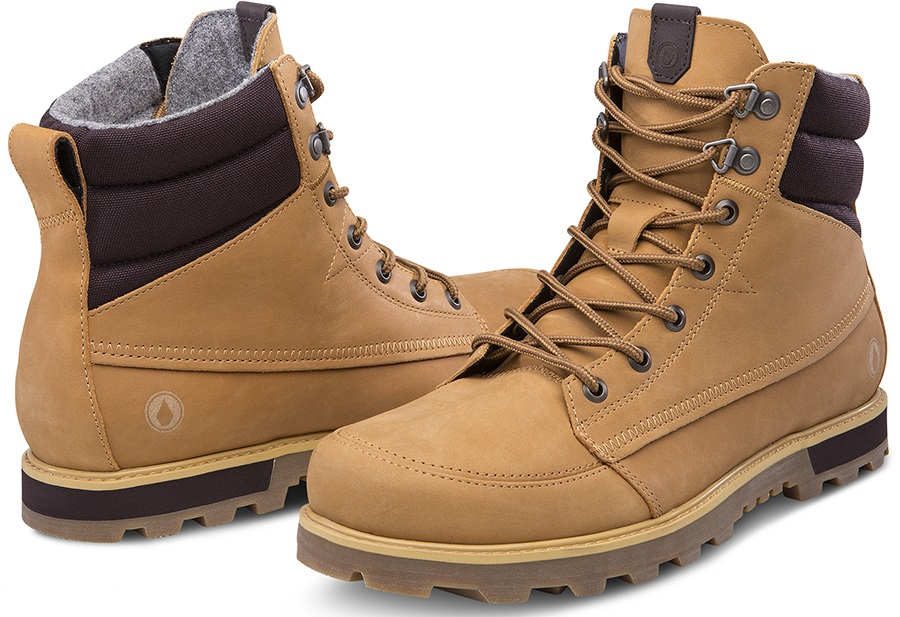 Volcom Sub Zero Men's Winter Boots, UK 5 Wheat