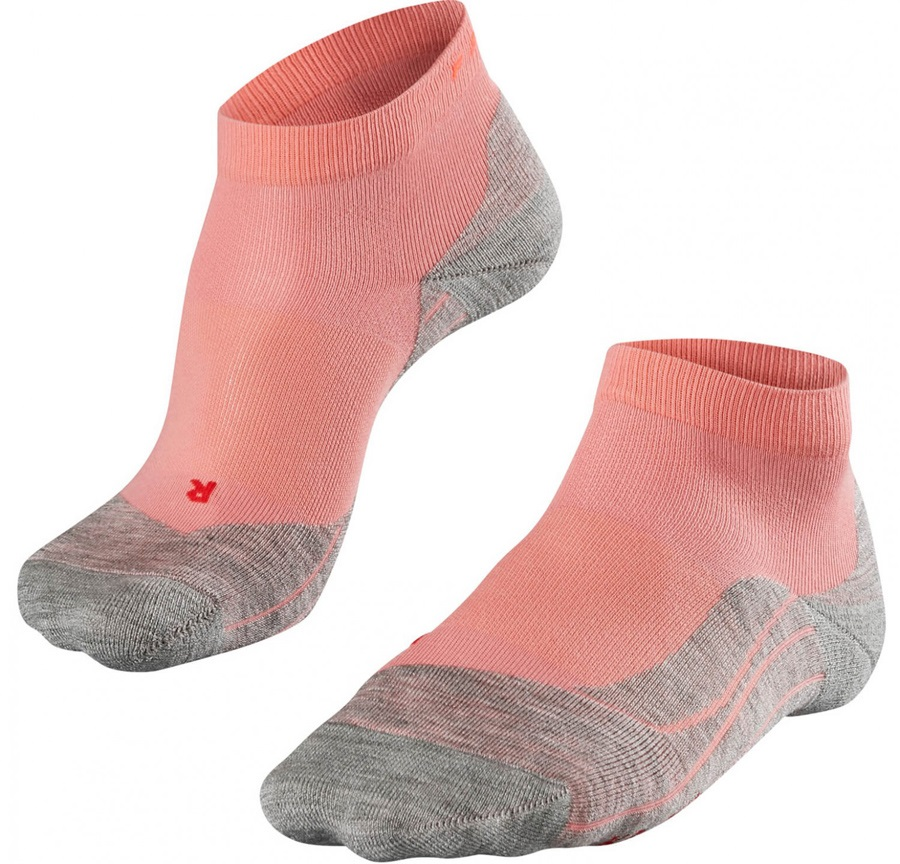 Falke RU 4 Short Women's Low Cut Running Socks, UK 7-8, Rose