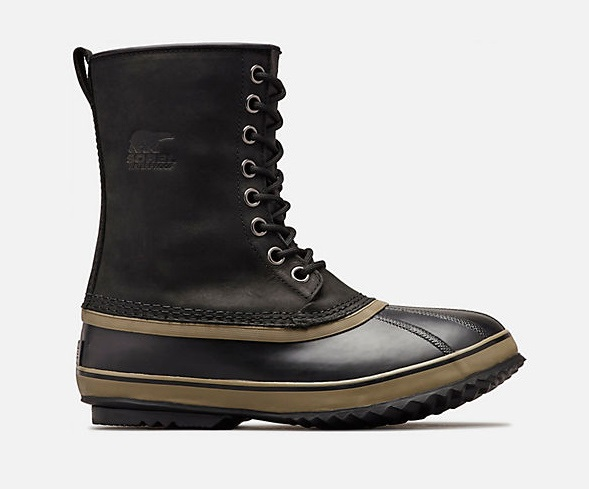Sorel 1964 Premium T Men's Winter Boots, UK 10.5 Matte Black