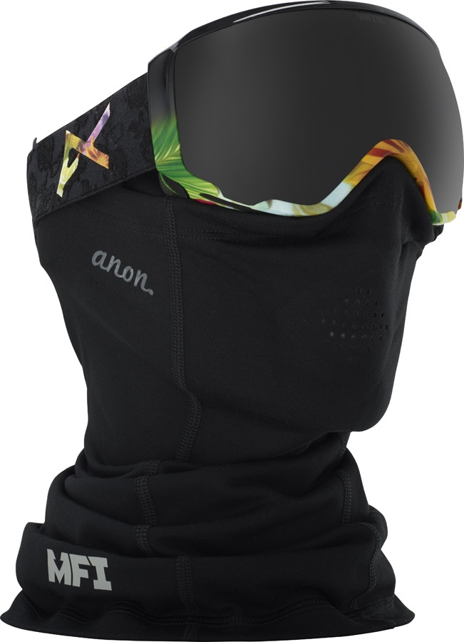 Anon Mid-Weight Neckwarmer Women's MFI Facemask Black