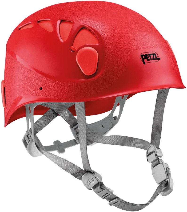 Petzl Elios Via Ferrata/Rock Climbing Helmet Size 1 Red