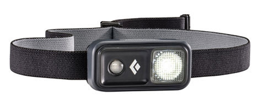 Black Diamond Ion 100 Lumen LED Headlamp, Adjustable, Black