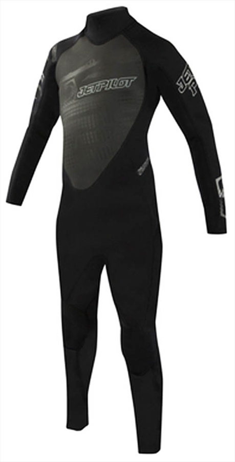 JetPilot Cause 3/2mm Youth Full Wetsuit, S, 9-10 Years, Black