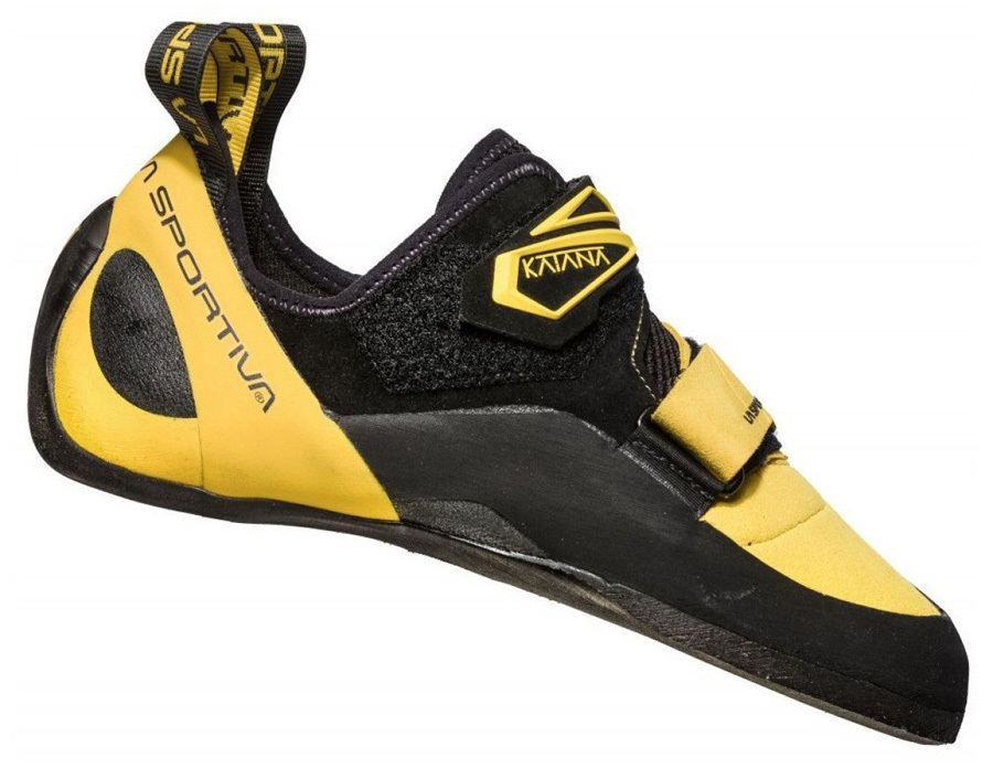 La Sportiva Katana Rock Climbing Shoe - UK 9 / EU 43, Yellow