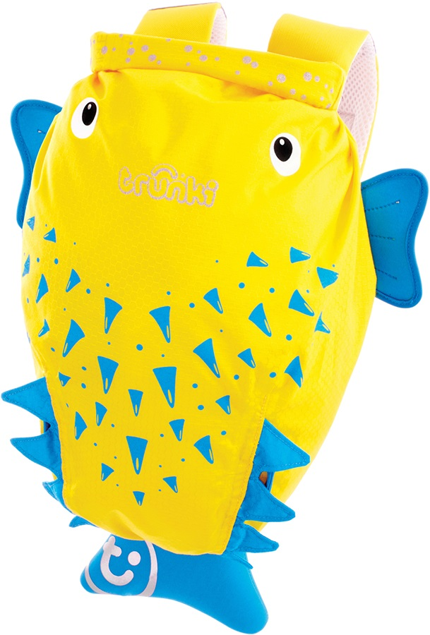 Trunki PaddlePak Kid's Backpack, 7.5L Spike The Blowfish